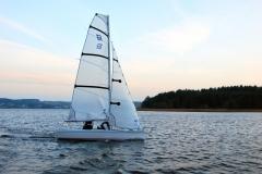 Nautica 450 Race pierwszy raz na wodzie