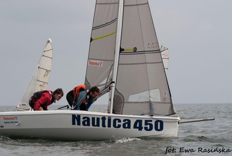 Wymagające Mistrzostwa Polski Skiff & Dinghy dla załóg Nautica 450