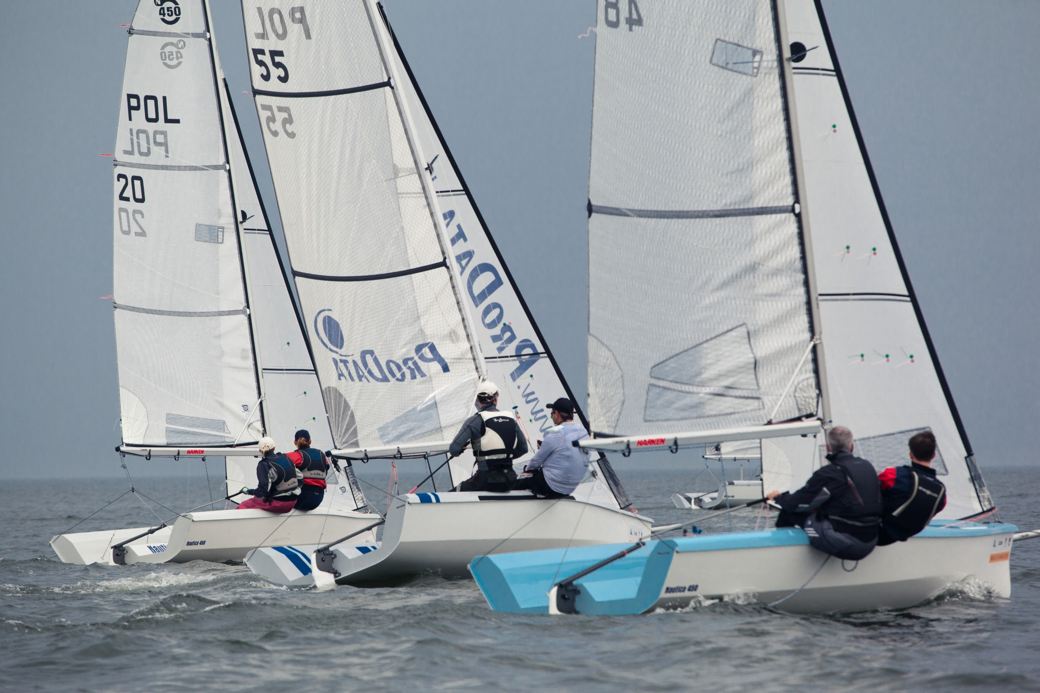 Zawiadomienie o regatach Mistrzostwa Skiff & Dinghy oraz Puchar Polski w klasie Nautica: Gdynia, 2-3.08.2014