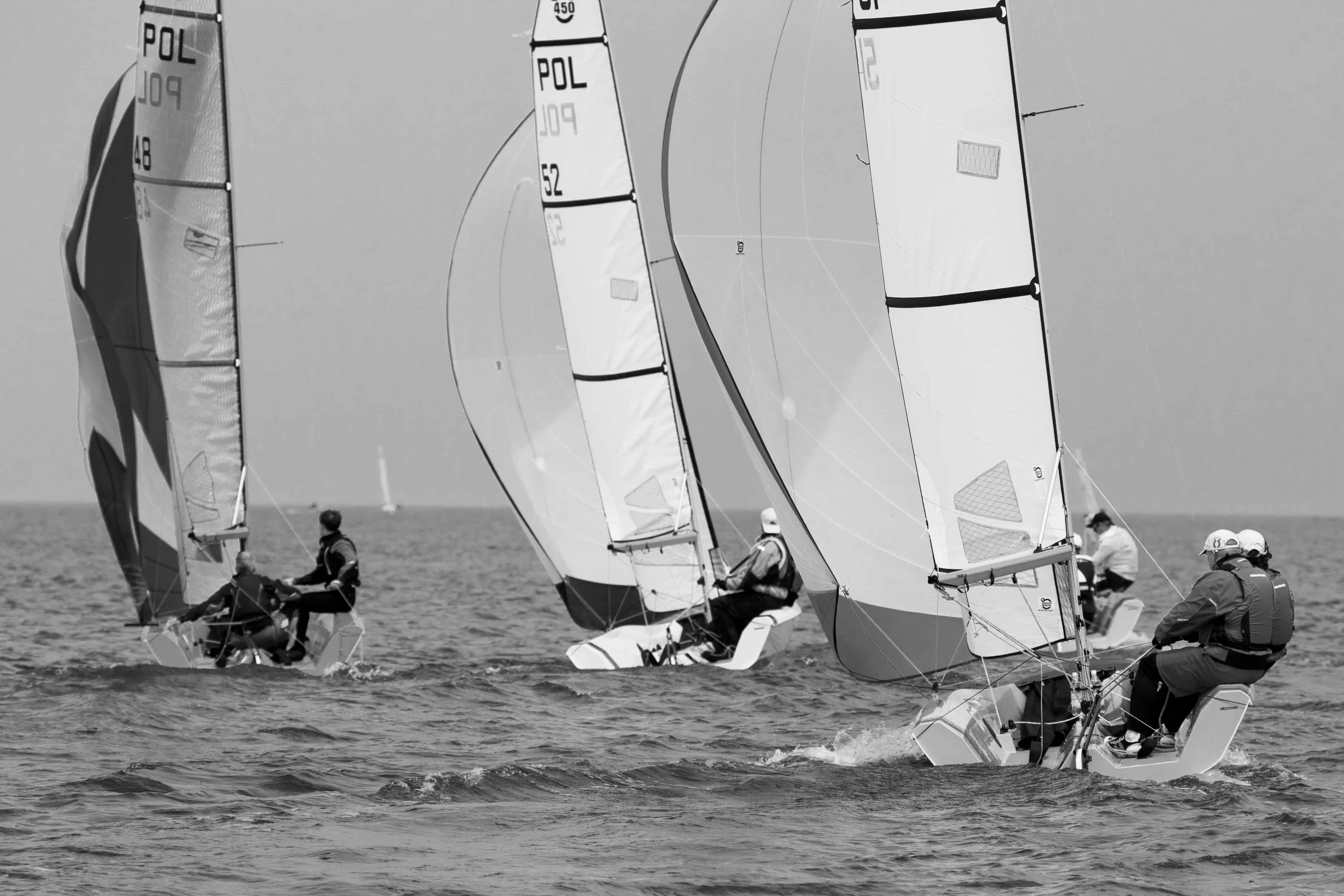 Załogi Nautica 450 ścigały się w Mistrzostwach Warszawy