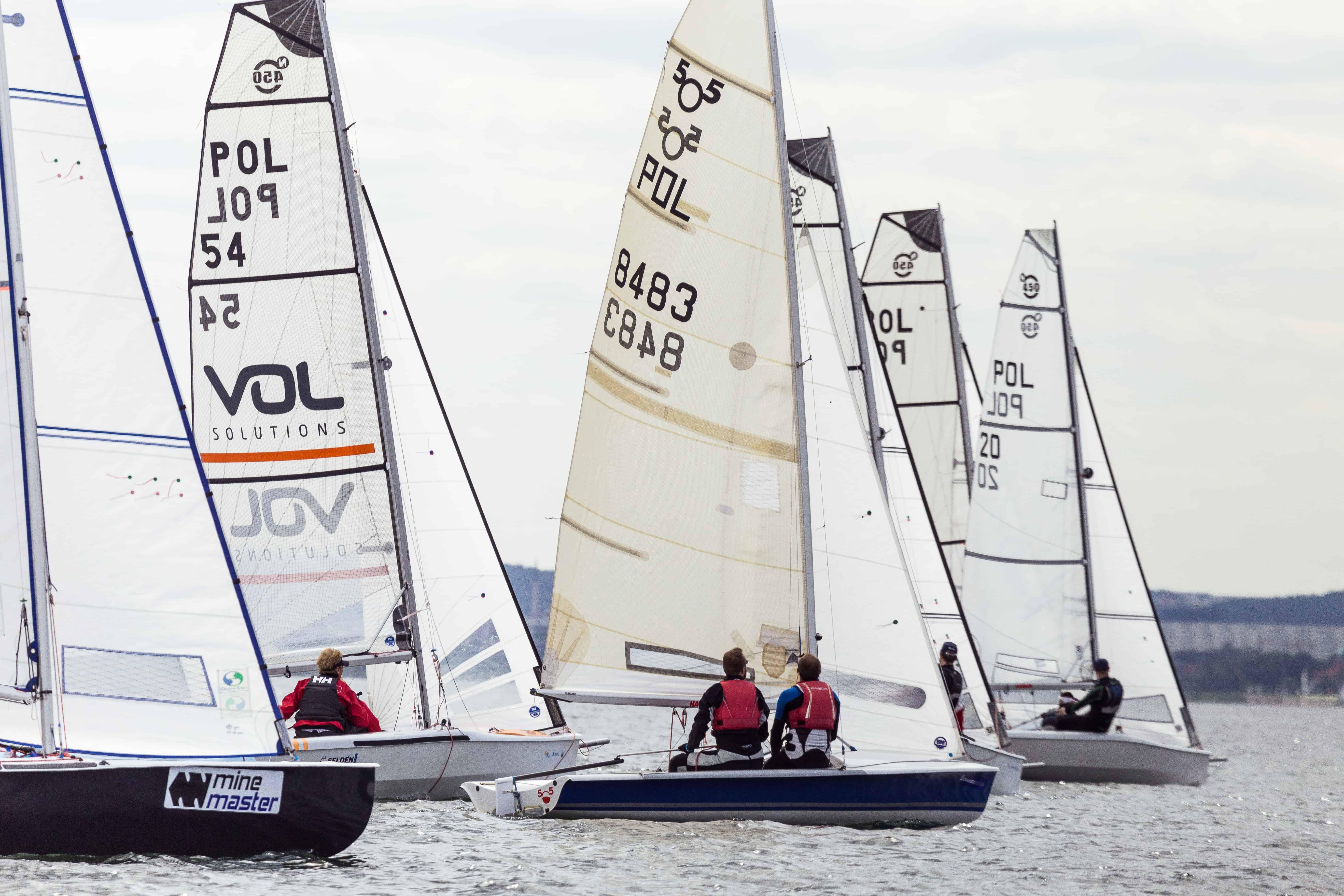 Volvo Warsaw Sailing Days – V akt Pucharu Polski klasy Nautica 450
