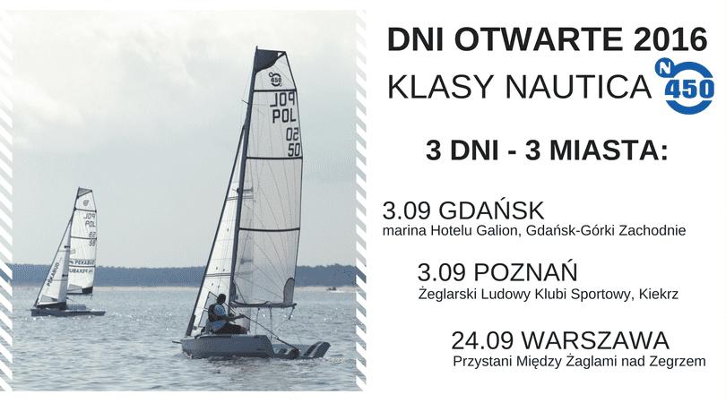 Ogólnopolskie Dni Otwarte Nautica 450