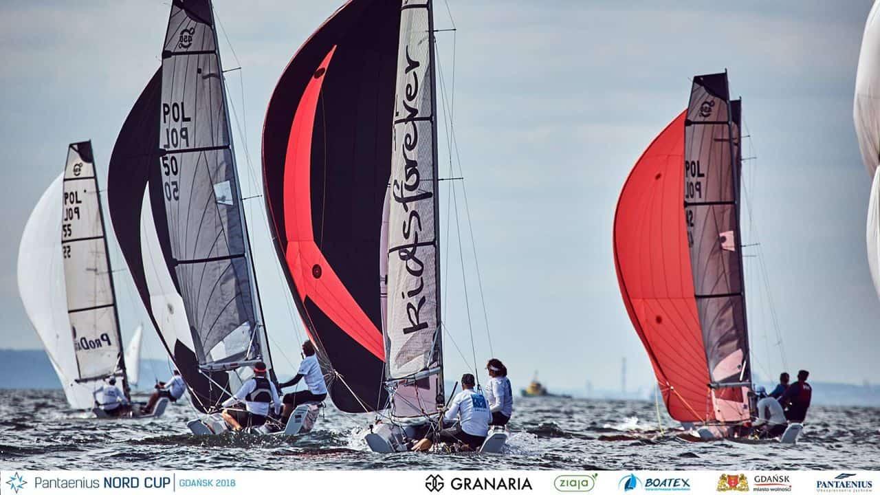 Puchar Polski Nautica 450 2019 w blokach startowych