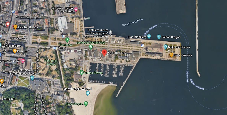 Zgrupowanie szkoleniowe Nautica 450 w Gdyni 2021